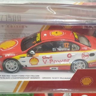 1/43 Ford Falcon FGX V8 Supercar 2018 Season Car Scott McLaughlin Champion Edition