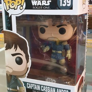 Funko Pop Vinyl #139 Star Wars Rogue One Captain Cassian Andor