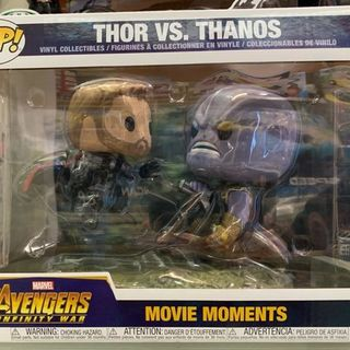 Funko Pop Vinyl #707 Marvel's Avengers - Thor Vs Thanos movie moments