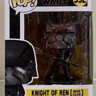 Funko Pop Vinyl #332 Star Wars - Knight of Ren (war club) hematite chrome