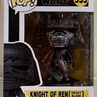 Funko Pop Vinyl #335 Star Wars - Knight of Ren (heavy blade) hematite chrome