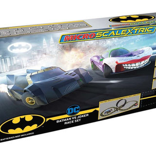Scalextric Micro Batman vs Joker Set (Battery Power)