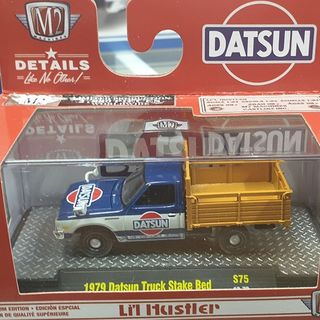 1979 Datsun Stake Bed Truck 1/64 M2 Machines