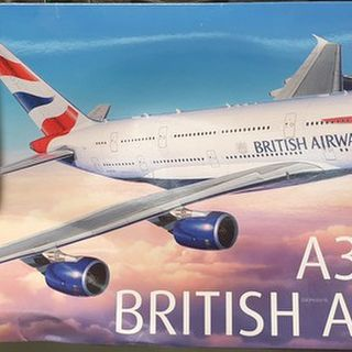Airbus A380-800 British Airways Kitset 1/144 Revell