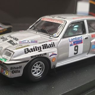 Vauxhall Chevette HSR, 1982 RAC Rally Great Britain, Tony Pond 1/43 Trofeu