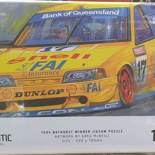 1994 Bathurst Winner 1000 Piece Jigsaw Puzzle Johnson & Bowe
