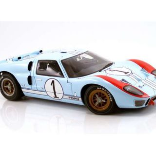 Ford GT40 MKII 1966 Le Mans 2nd Denny Hulme & Ken Miles *Master Piece Collection* 1/12 Acme Diecast