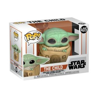 Funko Pop Vinyl #405 Star Wars The Mandalorian - The Child in Rucksack (baby yoda)