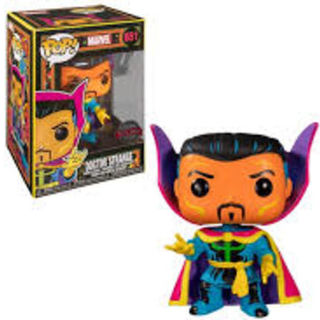 Funko Pop Vinyl #651 Marvel Blacklight - Doctor Strange (special edition)