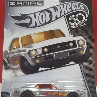 Hot Wheels 1967 Ford Mustang Coupe Hotwheels 50th Anniversary series
