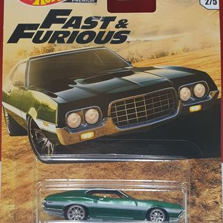 Hot Wheels Fast & Furious 1972 Ford Gran Torino Sport