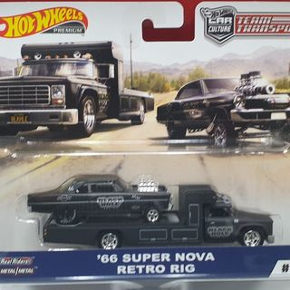 Hot Wheels 1966 Super Nova on a Retro Rig