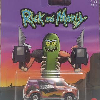 Hot Wheels Rick & Morty Ford Transit Super Van