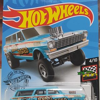 Hot Wheels 1966 Chevrolet Nova Wagon Gasser