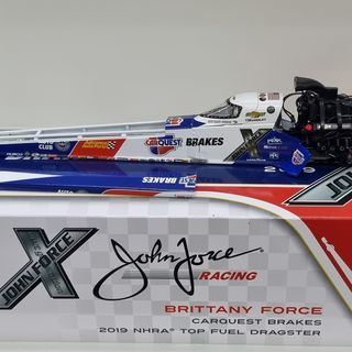 John Force Racing 2019 NHRA Top Fuel Dragster Brittany Force 1/24 Auto World