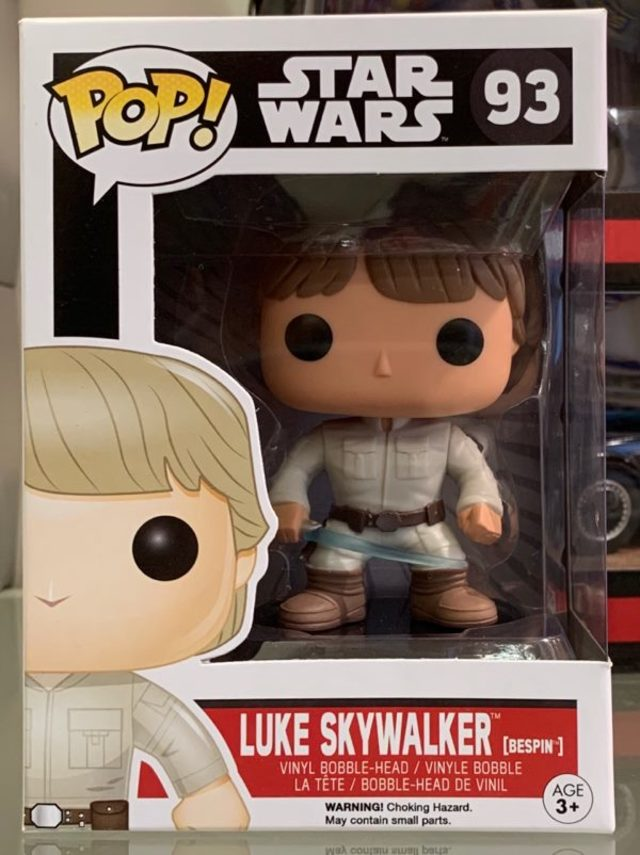 Funko Pop Vinyl #93 Star Wars - Luke Skywalker (bespin) Vaulted