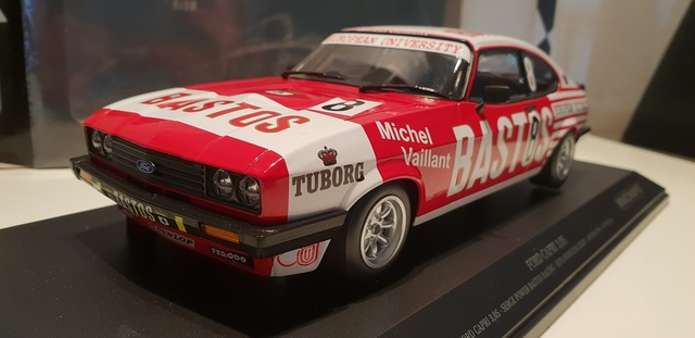 Ford Capri 3.0S 1980 Spa 24 Hour Bastos Racing 1/18 Minichamps