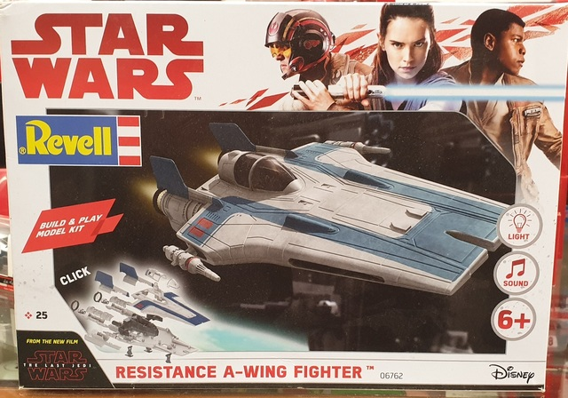 Star Wars Resistance A-Wing Fighter Kitset Revell Light & Sound