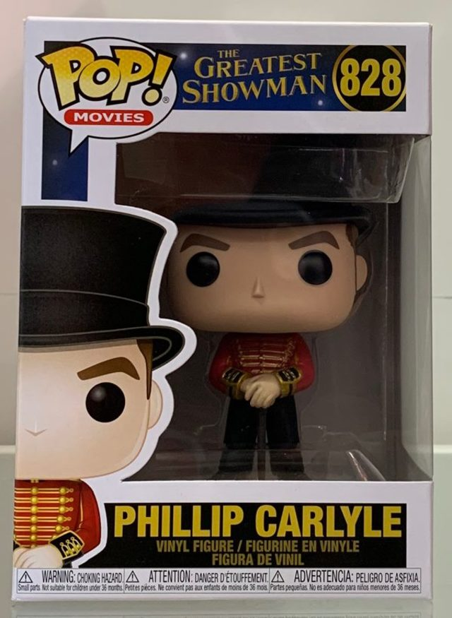 Funko Pop Vinyl #828 The Greatest Showman - Phillip Carlyle