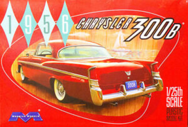 1956 Chrysler 300B Kitset Moebius Models 1/25 with engine