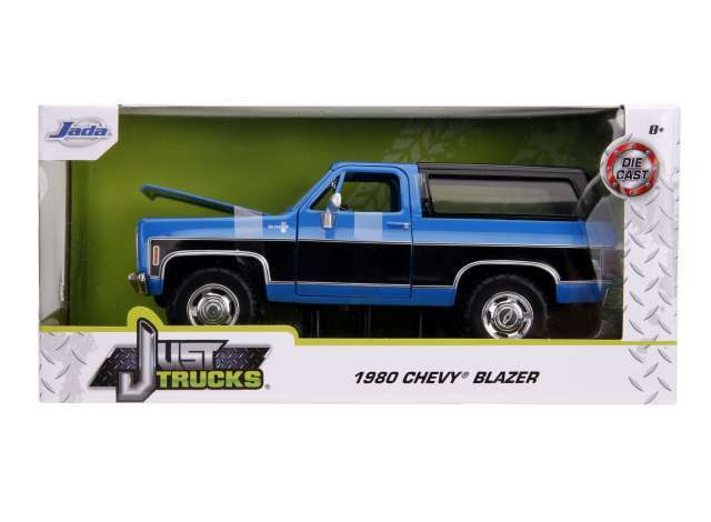 1980 Chevrolet K5 Blazer Blue & Black Jada Just Trucks 1/24