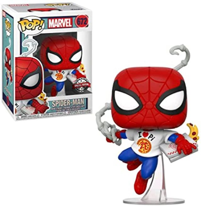 Funko Pop Vinyl #672 Marvel - Spiderman