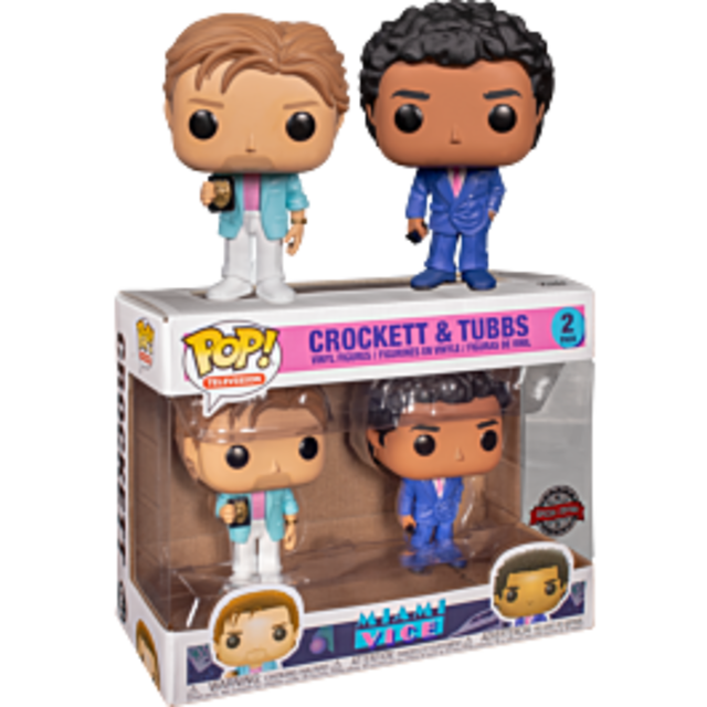 Funko Pop Vinyl: Miami Vice - Crockett & Tubbs 2 Pack