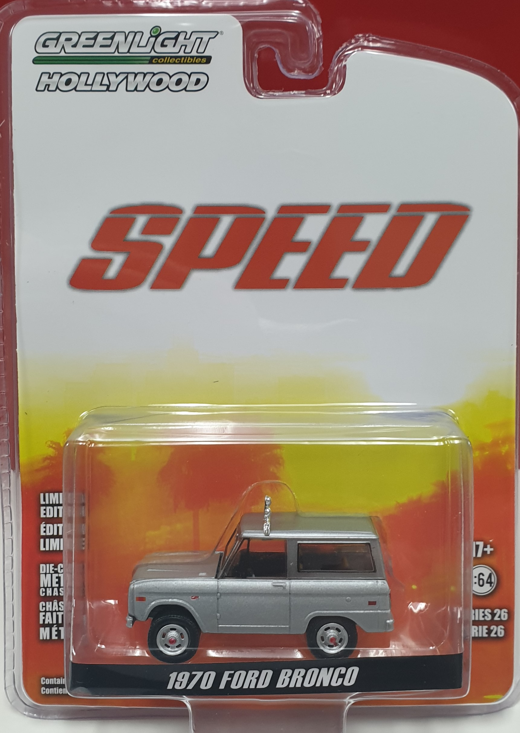 1970 Ford Bronco from Movie Speed 1/64 Greenlight